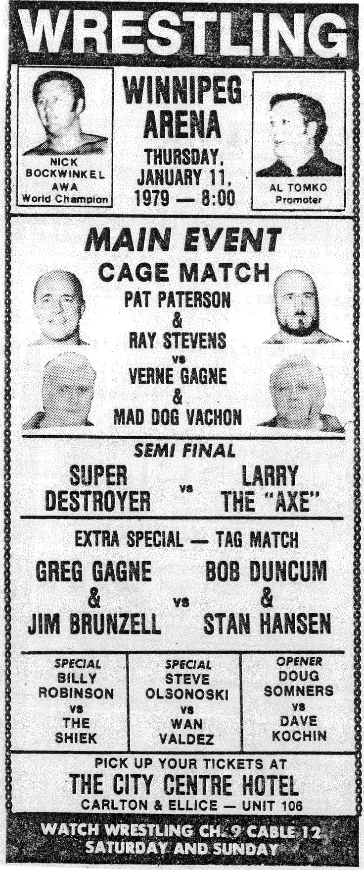 335 Best Classic Pro Wrestling Territory Clippings