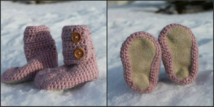Leather Bottom Boots Rose Pink Alpaca blend 6-9 Month $50