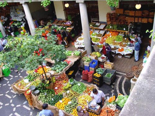 Picture of Market in Madeira Portugal