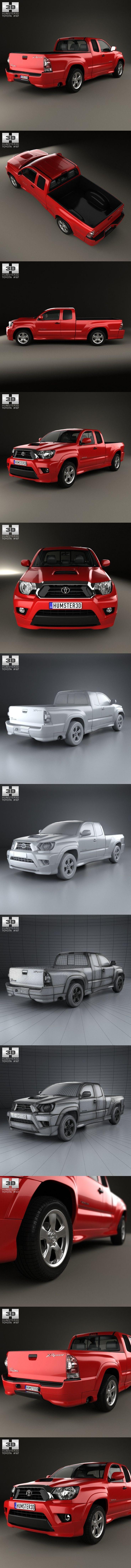 Toyota Tacoma X-Runner 2012