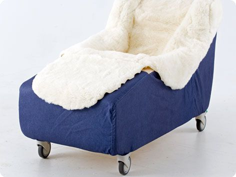Carefoam One Piece Fall Reduction Chair Provides Comfort