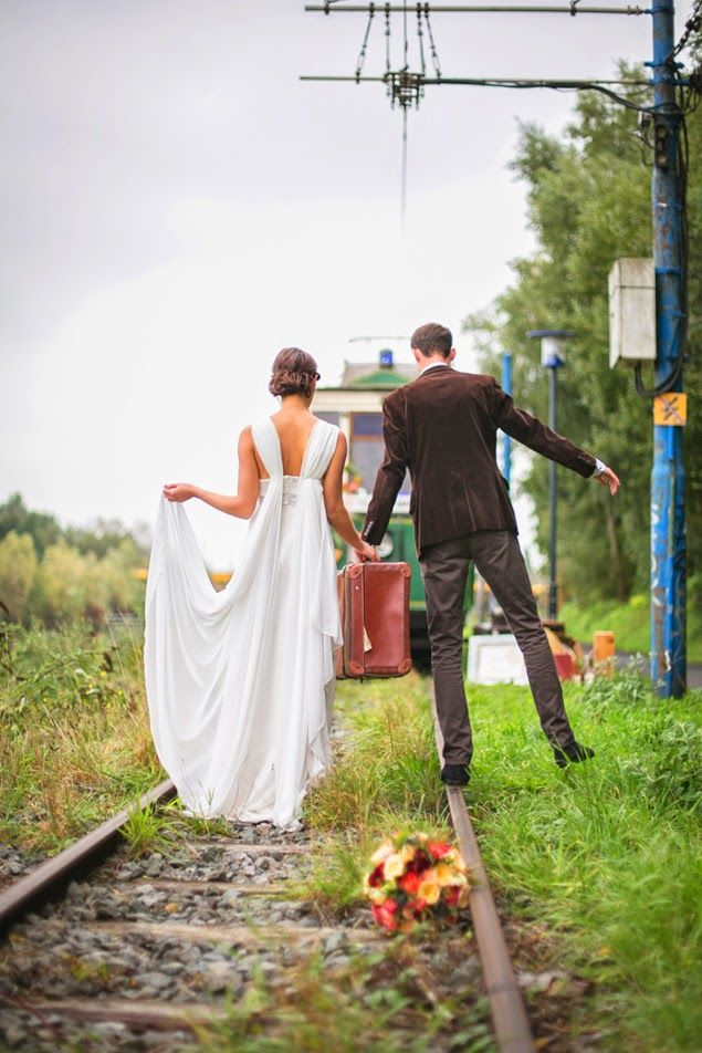 Trendy Wedding, blog ideas and inspirations ♥ Wedding French Wedding Blog: {shooting} The tram inspiration of love