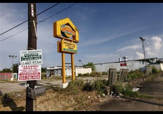 Church's Chicken | Forbes: The 10 Big Fast-Food Chains Disappearing | Comcast.net
