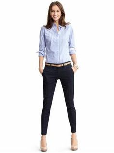 Smart work clothes for women