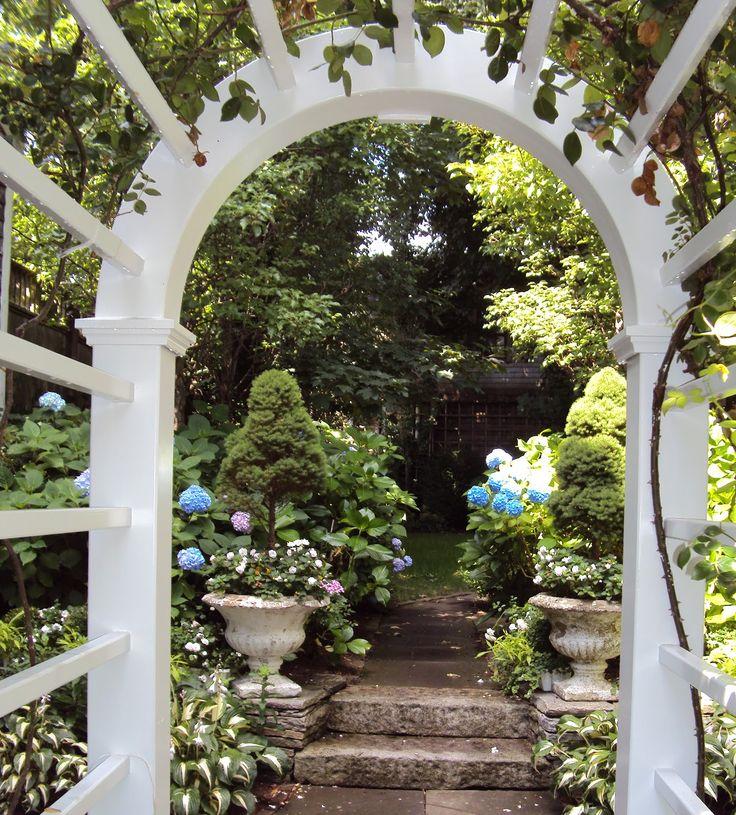 Garden Gate Arbors Designs garden gate Find This Pin And More On Arbors Arches Trellises Garden Gates