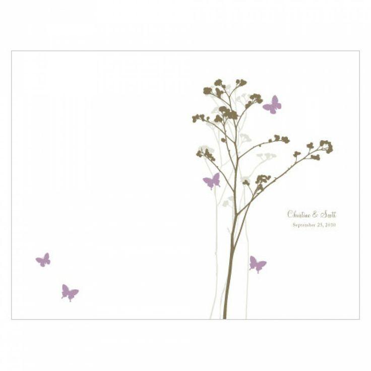 wedding programs romantic butterfly wedding bulletin 9 colors ws1004 08 buy