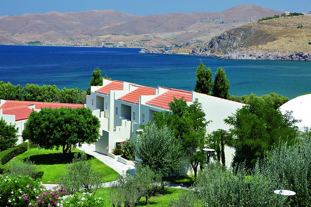 Lemnos Beach Holidays, Greece. Elemis Spa Beautiful rooms and contemporary bathrooms Fantastic swimming pool Excellent dinghy sailing Spacious landscaped grounds Adult only indoor pool Traditional and unspoilt island