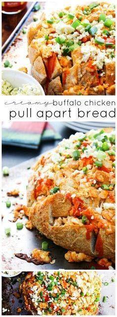 Creamy Buffalo Chick Creamy Buffalo Chicken Pull Apart LONG PIN Recipe : http://ift.tt/1hGiZgA And @ItsNutella  http://ift.tt/2v8iUYW  Creamy Buffalo Chick Creamy Buffalo Chicken Pull Apart LONG PIN...