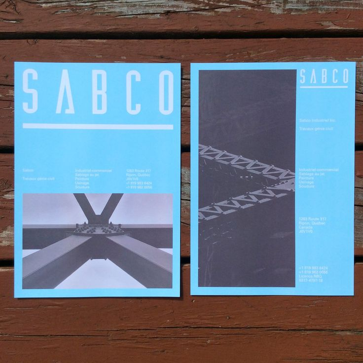 Sabco - civil engineering firm identity on Behance