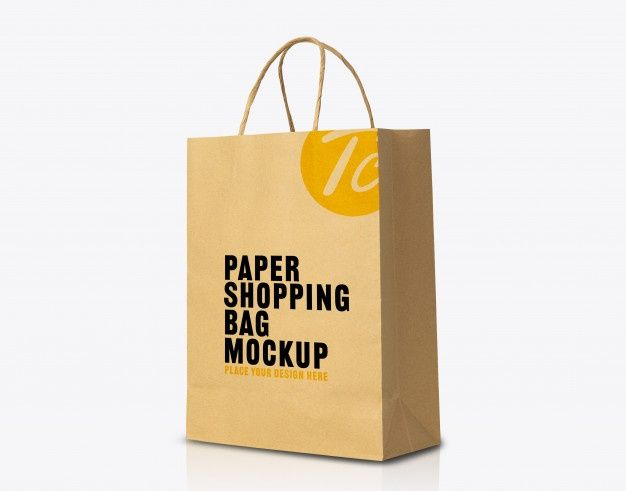 Download Recycled Kraft Brown Paper Bag Mockup For Your Design Bag Mockup Paper Bag Design Brown Paper Bag