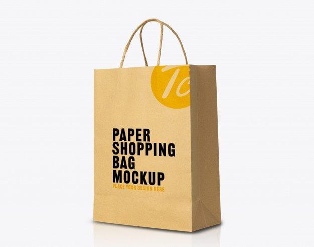 Download Recycled Kraft Brown Paper Bag Mockup For Your Design Bag Mockup Paper Bag Design Brown Paper Bag