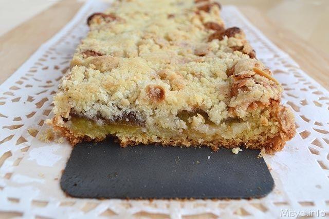 » Torta crumble di prugne Ricette di Misya - Ricetta Torta crumble di prugne di Misya