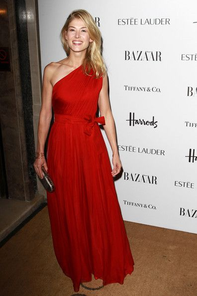 Rosamund Pike Photos: Harper's Bazaar Woman Of The Year Awards - Arrivals