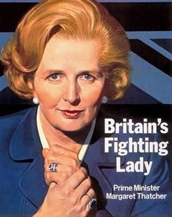 Prime Minister Margaret Thatcher... inspired by the movie Iron Lady!