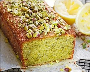 Gluten free almond and pistachio cake
