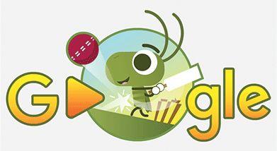 CrickHIT for Six in today's #Cricket #GoogleDoodle! 🏏 Score: 104