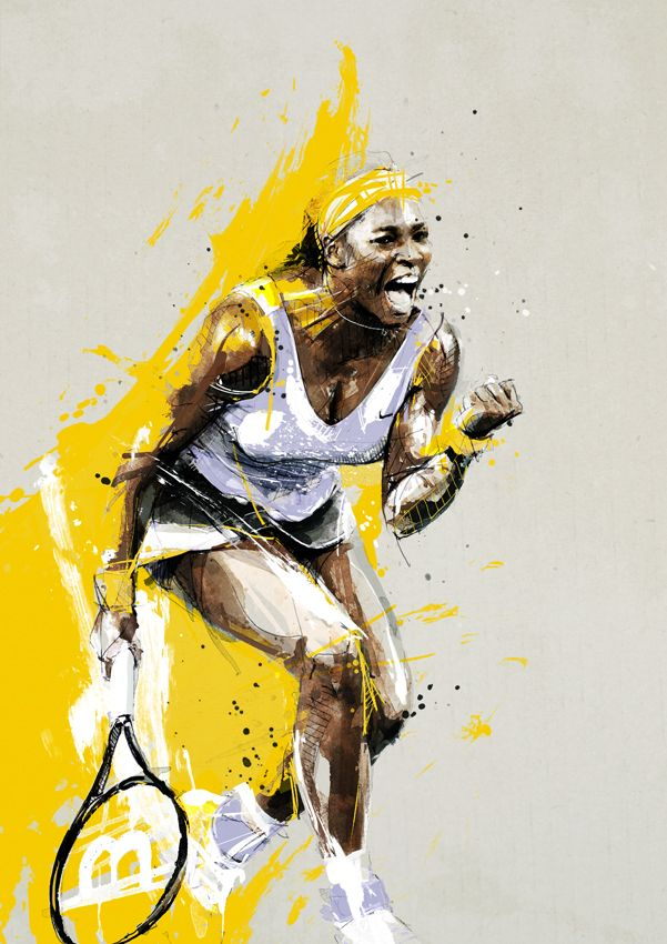 Serena Williams by neo-innov.deviantart.com on @deviantART