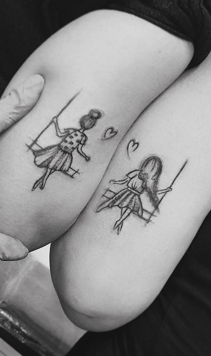 55 Amazing Tattoos for Best Friends – TopTattoos
