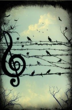 natures' music notes