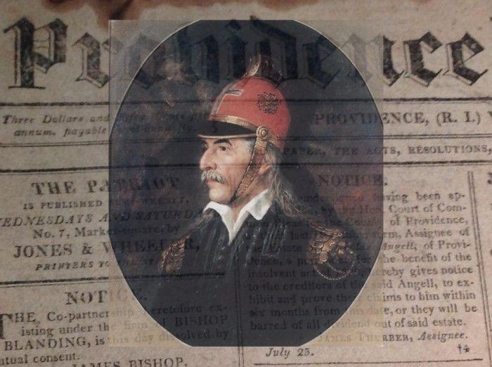 Ιστορικό πρωτοσέλιδο αμερικάνικης εφημερίδας του 1821. Εκθείαζε την Ελληνική Επανάσταση την ώρα που ο Κολοκοτρώνης πολιορκούσε την Τριπολιτσά. Η κυβέρνησή τους όμως, έμεινε στα λόγια - ΜΗΧΑΝΗ ΤΟΥ ΧΡΟΝΟΥ