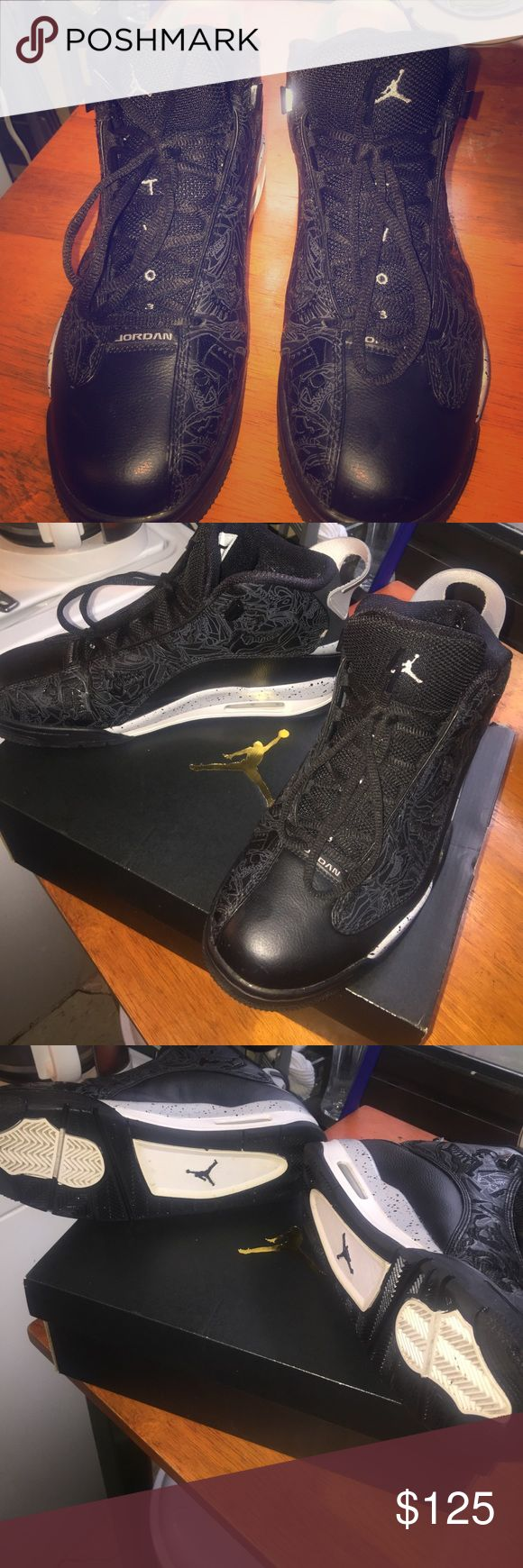 It was a gift and it's not really my style of shoe Very Comfy sneakers Jordan Dub Zero's only used about 3 good times I prefer to sell and give to someone who is in need to rather toss them their kinda not really my style I'm more of an expensive type of guy lol if you have Giuseppe Zanotti Sneakers now we're talkin Jordan Shoes Sneakers