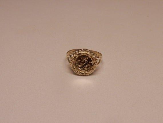 10k Yellow Gold Panda Ring Size 8 1 2 Panda Ring Size 10 Rings Rings