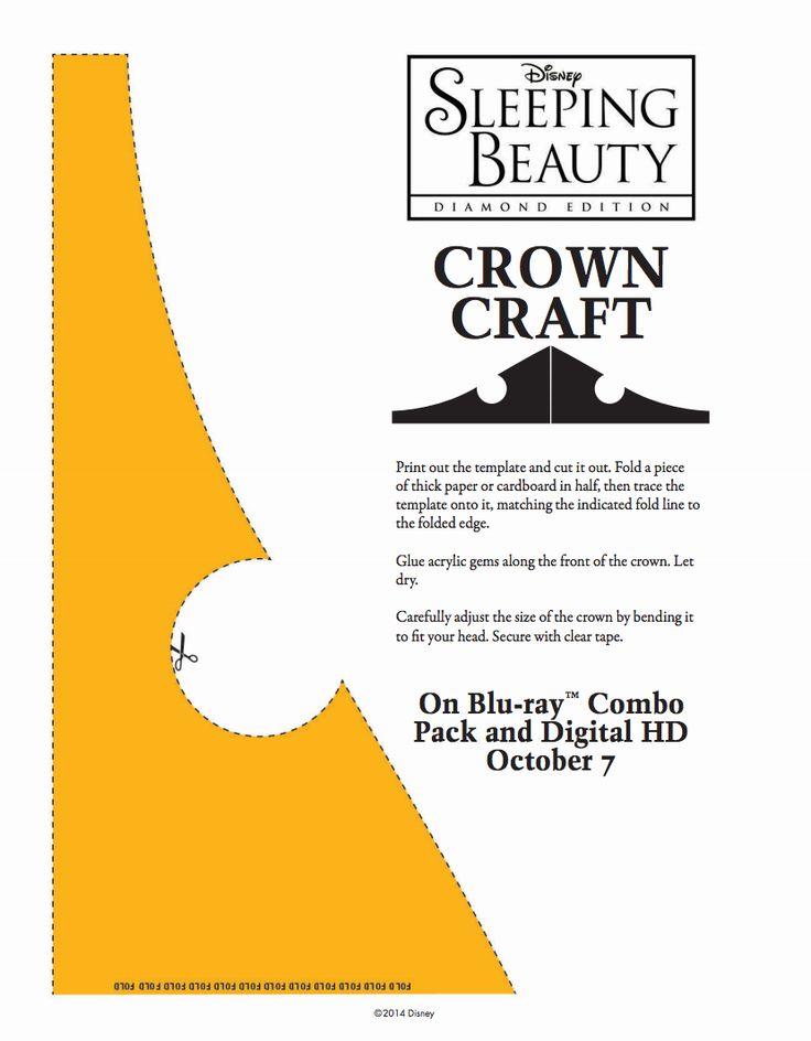 Princes Aurora Crown Craft Stencil