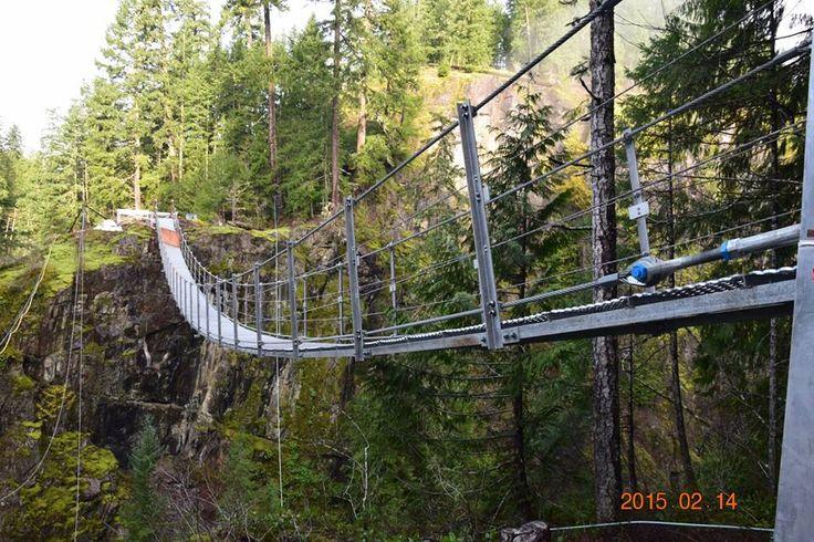 Elk Falls Suspension Bridge, near Campbell River