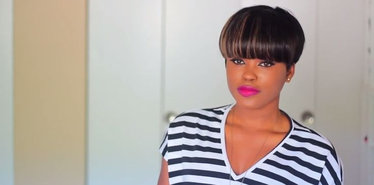 Hair Style Prices: This Is A Quick And Easy Mushroom Bowl Cut Hairstyle. You