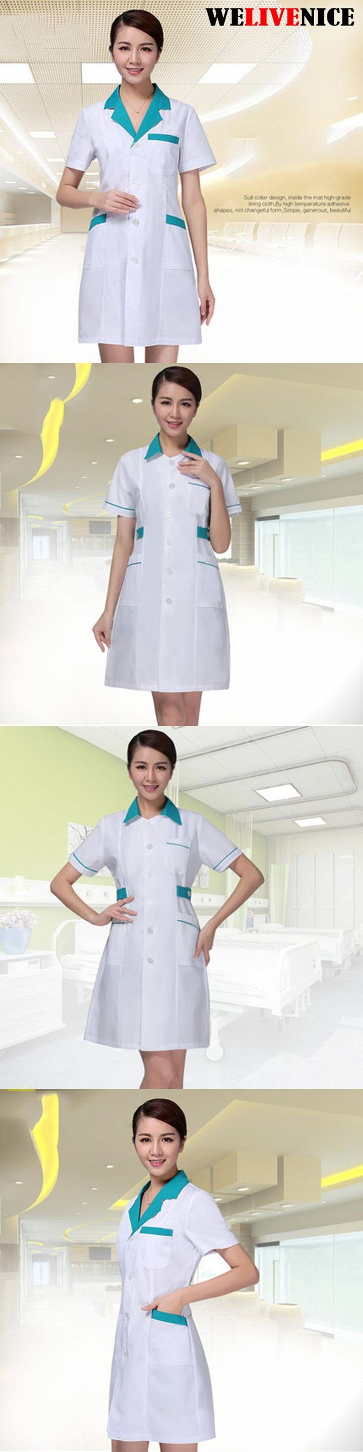 Hot!! Summer Women Men Hospital Medical Scrub Clothes Set Dental Clinic And Beauty Nurse Uniform Fashionable Design Slim Fit
