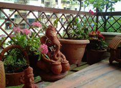 balcony gardens in india - Google Search