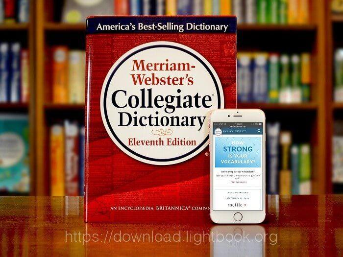 تحميل تطبيق قاموس Merriam Webster Dictionary اصدار 2018 للاندرويد والايفون مجاناً