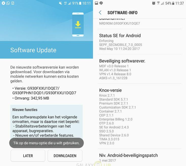 Samsung, Galaxy S7 modeli için yeni bir güncelleme yayınladı. Peki, bu güncelleme neler getiriyor?    Samsung, söz verdiği gibi tepe modellerine her ay güncelleme vermeye devam ediyor. Google'ın Android cihazları için başlatmış olduğu güvenlik güncellemeleri kapsamında dağıtılan bu...   http://havari.co/galaxy-s7-icin-yeni-guncelleme/