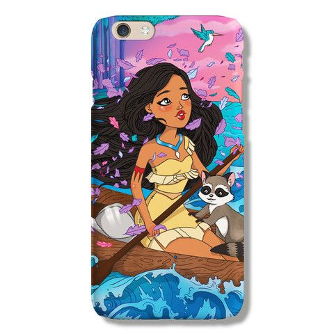 Pocahontas iPhone 6 case from The Dairy www.thedairy.com #TheDairy #PhoneCase #iPhone6 #iPhone6case