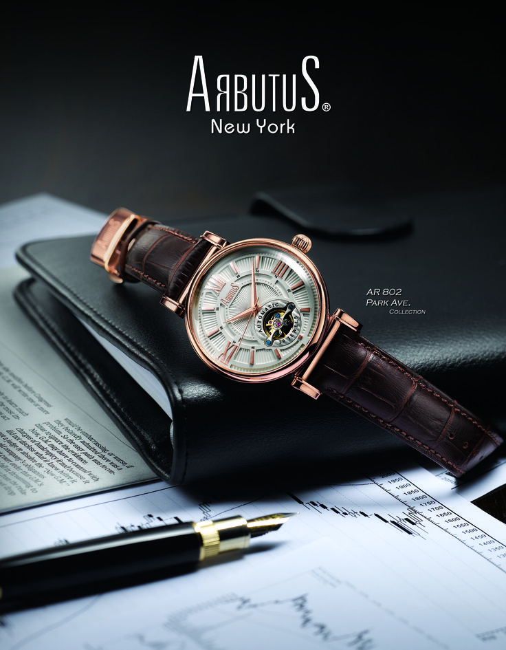 Arbutus - for those who truly appreciate the art of watch-making