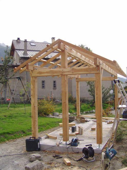 Oltre 1000 idee su abri bois su pinterest abri jardin abri voiture e abris - Bois chauffage castorama ...