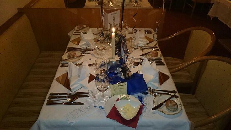Elegant gedeckte Tische erwarten Sie im Genusshotel Almrausch **** www.almrausch.co.at