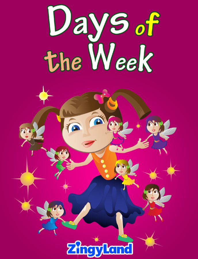 The 7 fairies of the week fall into a tornado and lose their memory! How will they figure out what they should do? Get the puzzle, the painting and memory cards for Free.