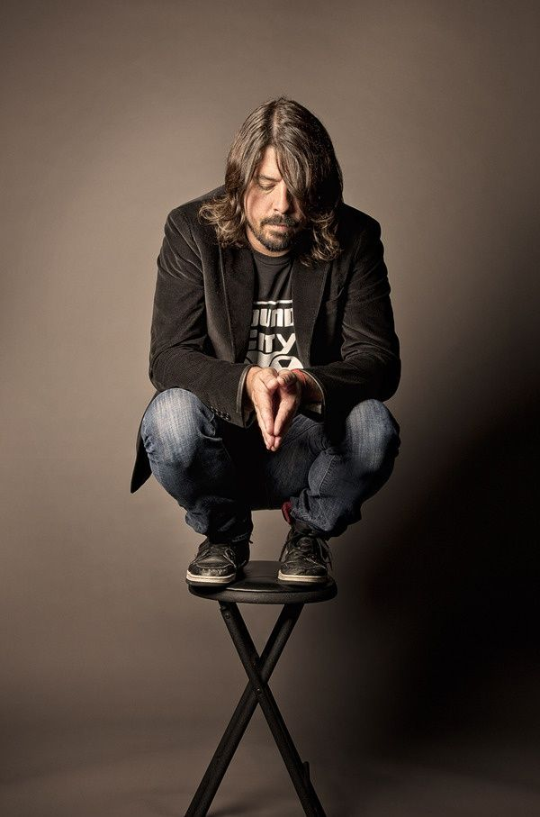 Dave mutherfucking Grohl. Badass drummer of a legendary band. Then after that band broke up, just decided to be the lead guitarist and singer of another legendary band. If there is one person I want to be like, it's this man. He showed me that through hard work, you will always be successful. My hero