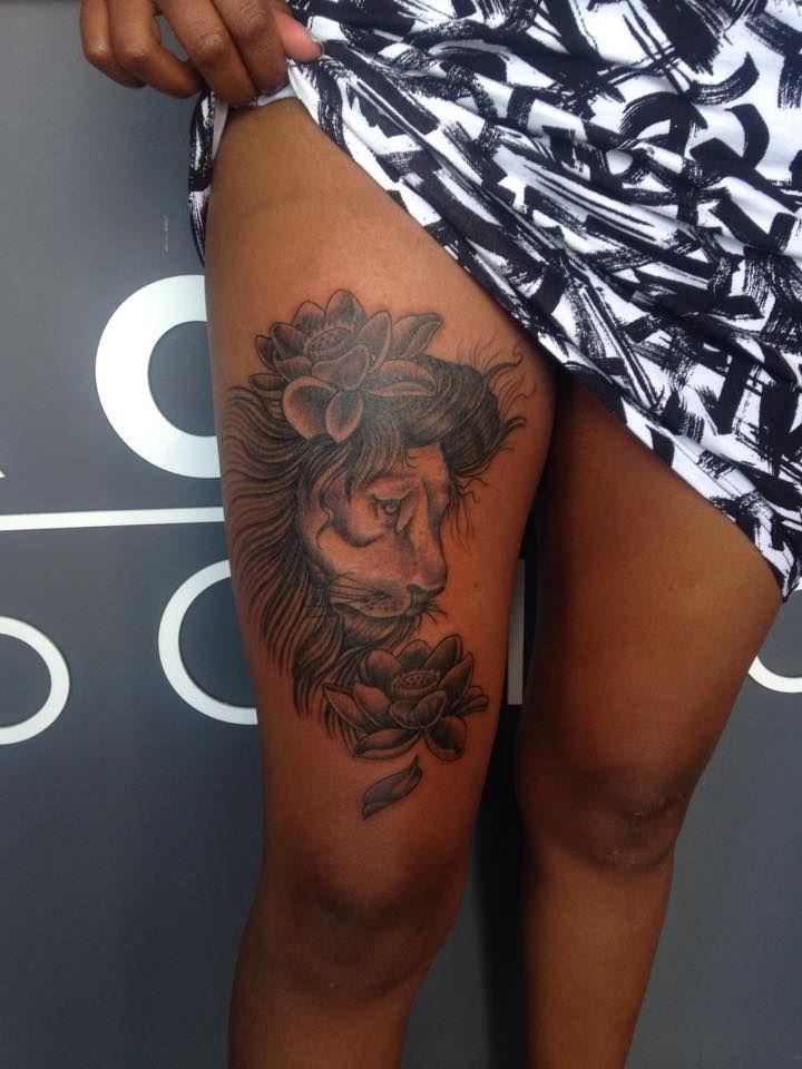 Beautiful lion by Aidin Chimney