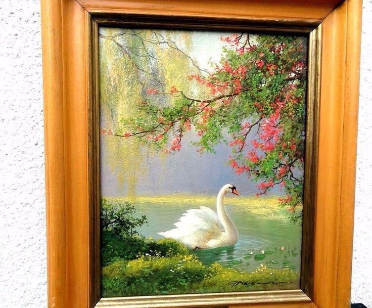 Gerhard Nesvadba : Landscape Painting (Oil On Canvas) #Impressionist