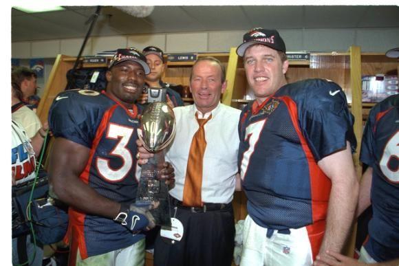 #patbowlen Denver Broncos Beloved Terrell Davis, Owner Pat Bowlen and Our Elway!