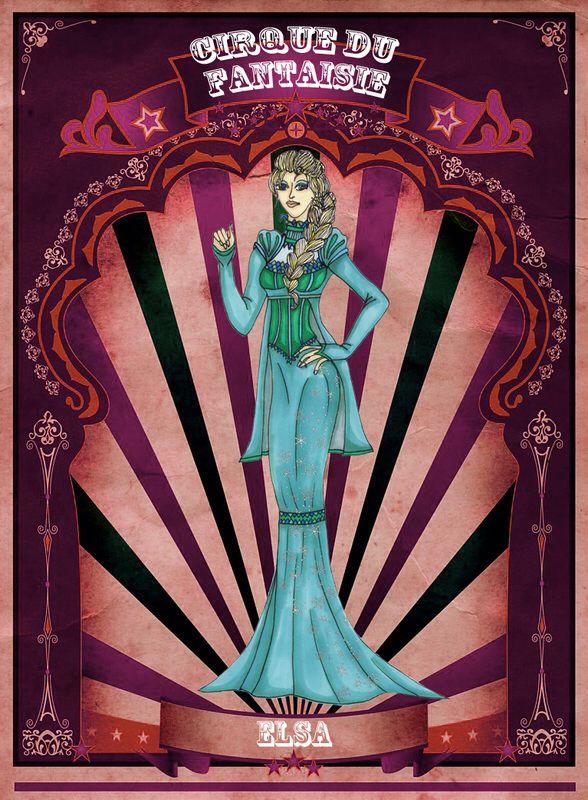 Elsa by Louise's Designs (c) 2015