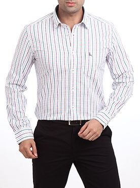 Raymond is a garment which is very popular for its unique, stylish and quality oriented products. Keeping the same spirit alive, it has introduced this Parx Casual Shirt. This light blue colored shirt will make you look absolutely dashing when you wear it with a matching trouser. This is made from pure cotton which will provide you the supreme level of comfort. This shirt has full sleeves and a slim fit design. This casual shirt will surely impress your friends and you will get loads of ...
