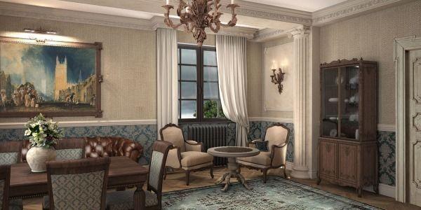 Винтажные ковры в проекте дизайнера Милы Даштамировой, Сочи