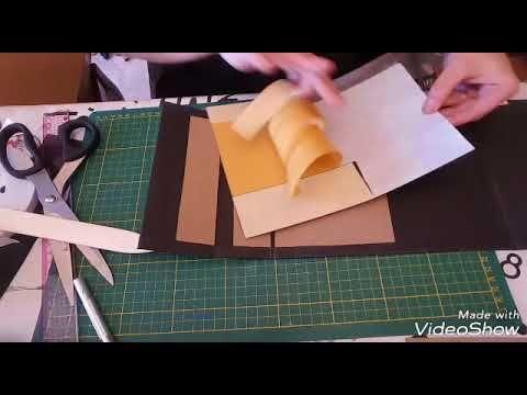 Tutoriel album photos avec le kit de pâques en partenariat avec creativ'hobby partie 2 la relliure e - YouTube