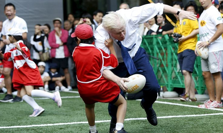 The London mayor is so ambitious he even wants to win a schoolboy game. But politics is not real life – and his opponents will not be so easy to tackle