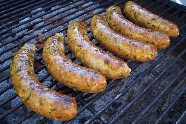 Chicken Feta Spinach Sausage