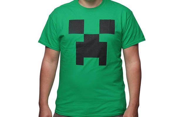 Minecraft Creeper Costume T-Shirt Get yours here: http://tshirtonomy.com/go/creeper-costume