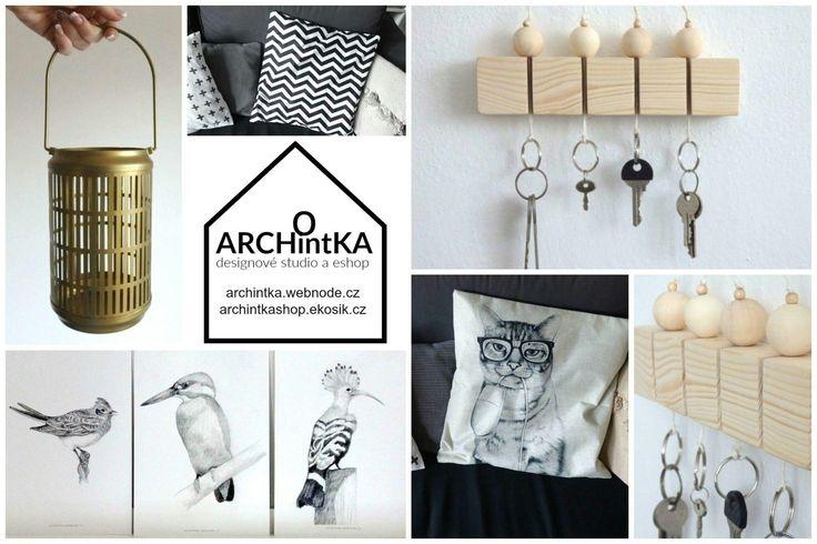 designové doplňky a dekorace do Vašeho interiéru
